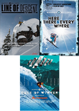 3 Warren Miller DVD Bundle