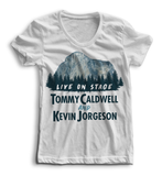 Tommy Caldwell and Kevin Jorgeson Live on Stage - Limited Edition Shirts (Women)