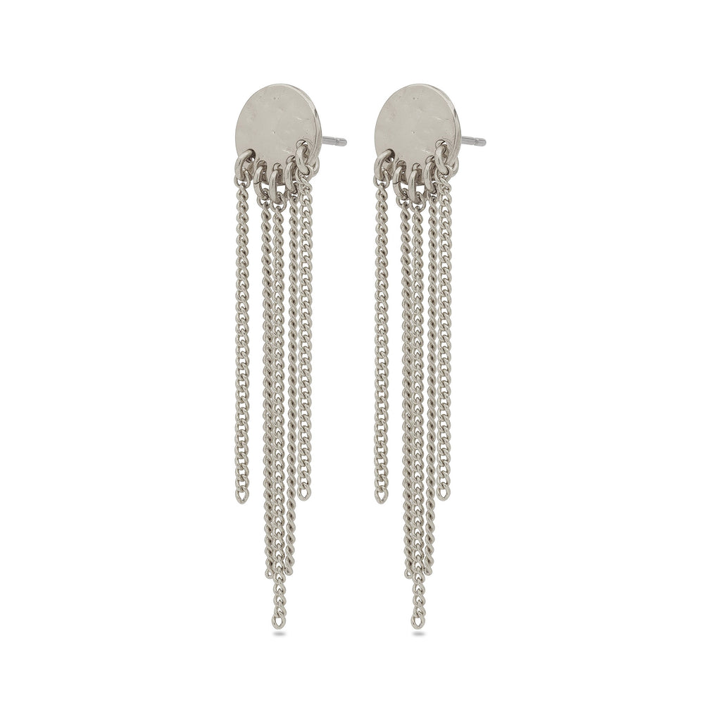 Earrings Emery - Pi Silver Plated by Pilgrim - Maaike Kleedt Online