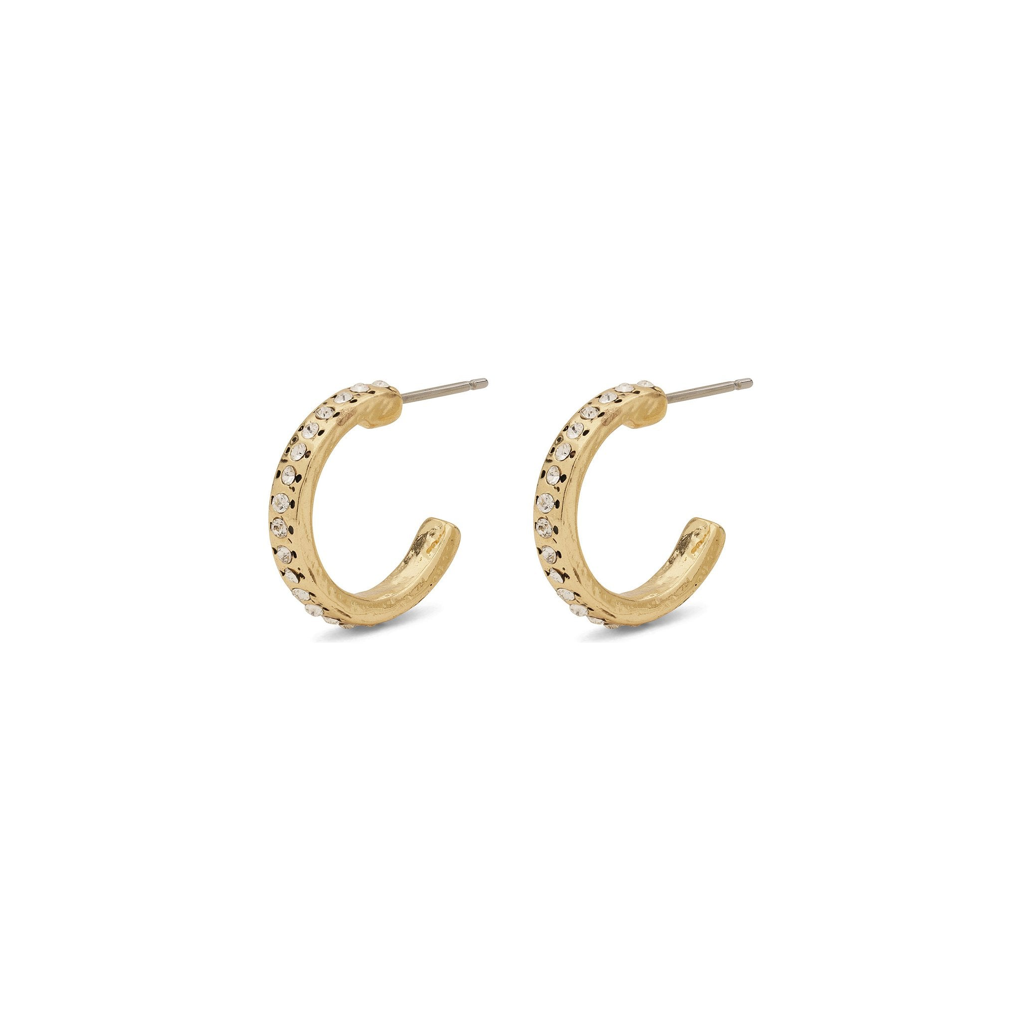 Earrings Arden Pi Gold Plated by Pilgrim - Maaike Kleedt Online