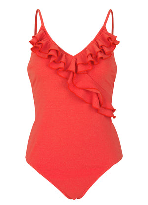 Swimsuit Bela Red Love