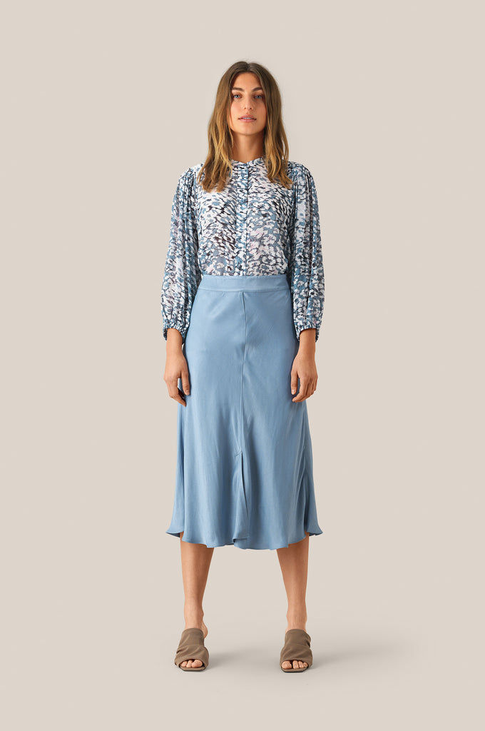 Skirt EDDY Faded Denim