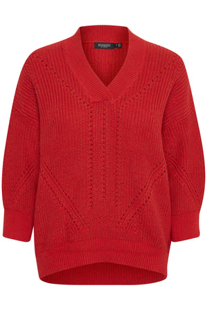 Knit OCEANE RODEO red