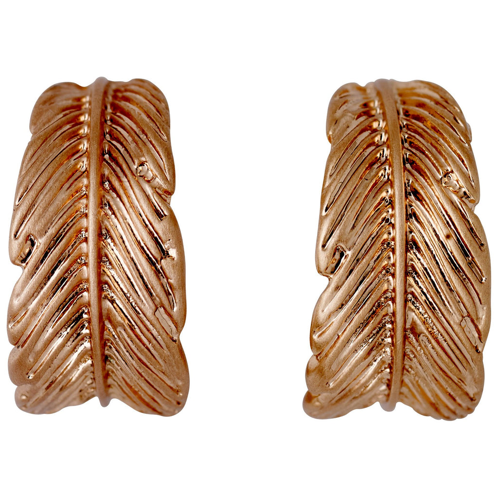 Earrings Lauren Rose Gold Plated - Maaike Kleedt Online