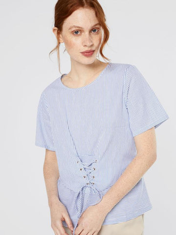 Blouse Cathja Short Sleeve
