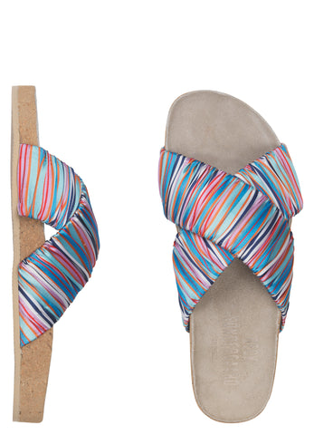 Sandal Sandy Stria Multi Color BeckSöndergaard