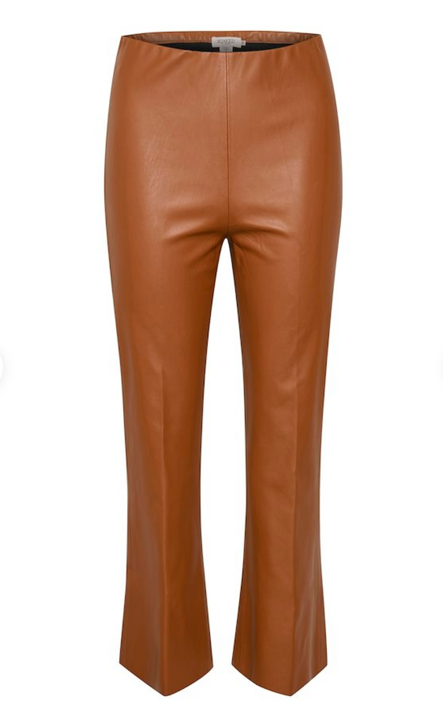 Pants KAYLEE Mocha Bisque Short Suiting