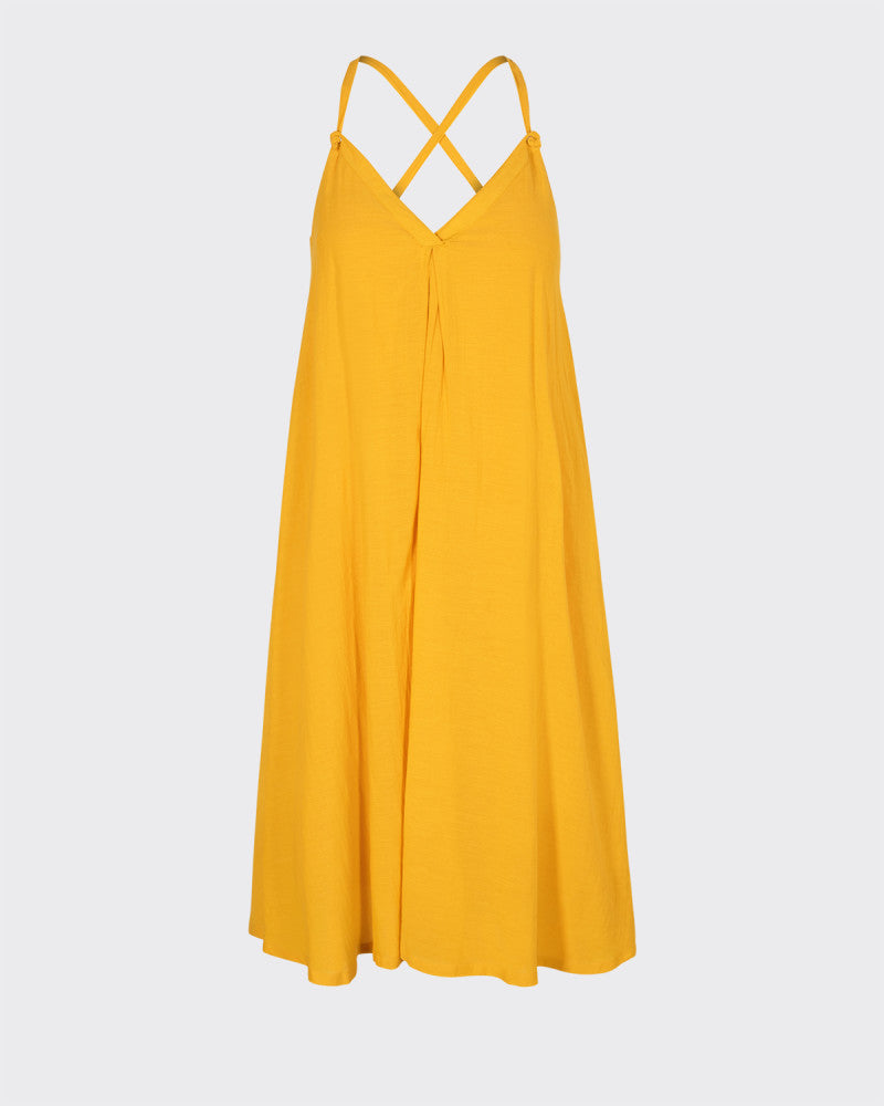 Dress Yarah Yellow