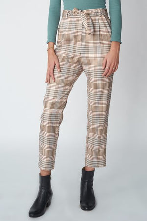Pants Wove Checked Pop Copenhagen