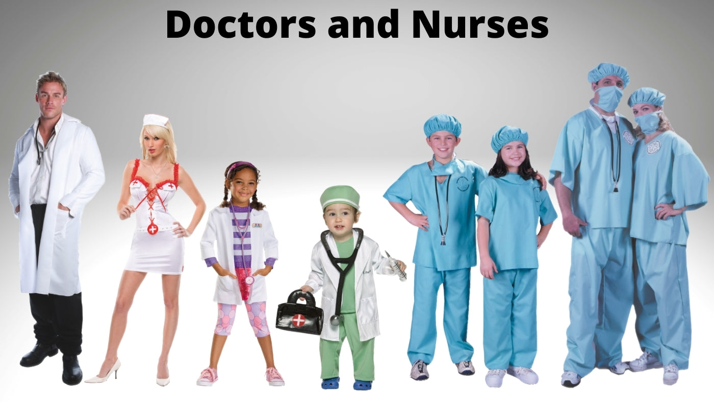 Doctors and Nurses Costumes