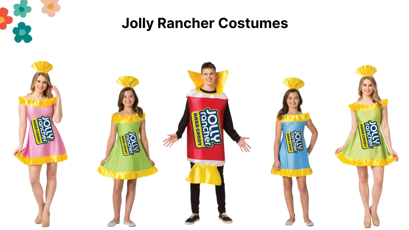 Jolly Rancher Costumes
