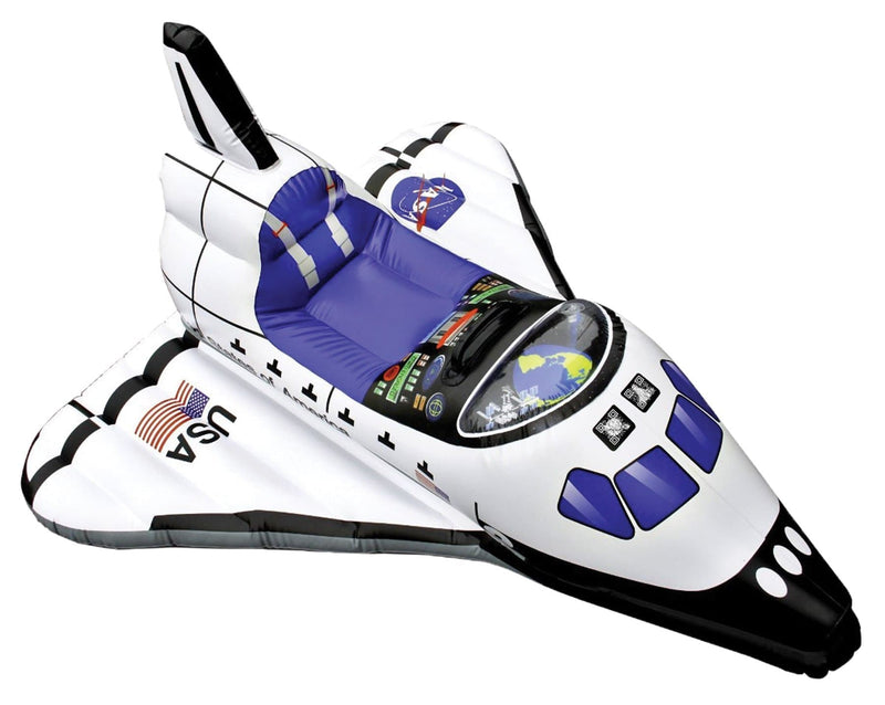 "Aeromax 42"" Inflatable Space Shuttle Child Accessory - Costume Arena"