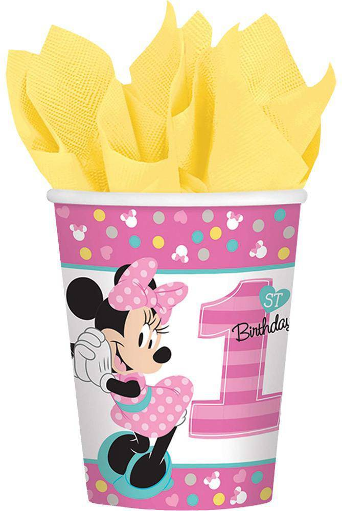 amscan Minnie Versatile Cups Theme Party Decoration - Costume Arena