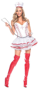Be Wicked Women's Home Care Nurse Sexy Party Costume - Costume Arena