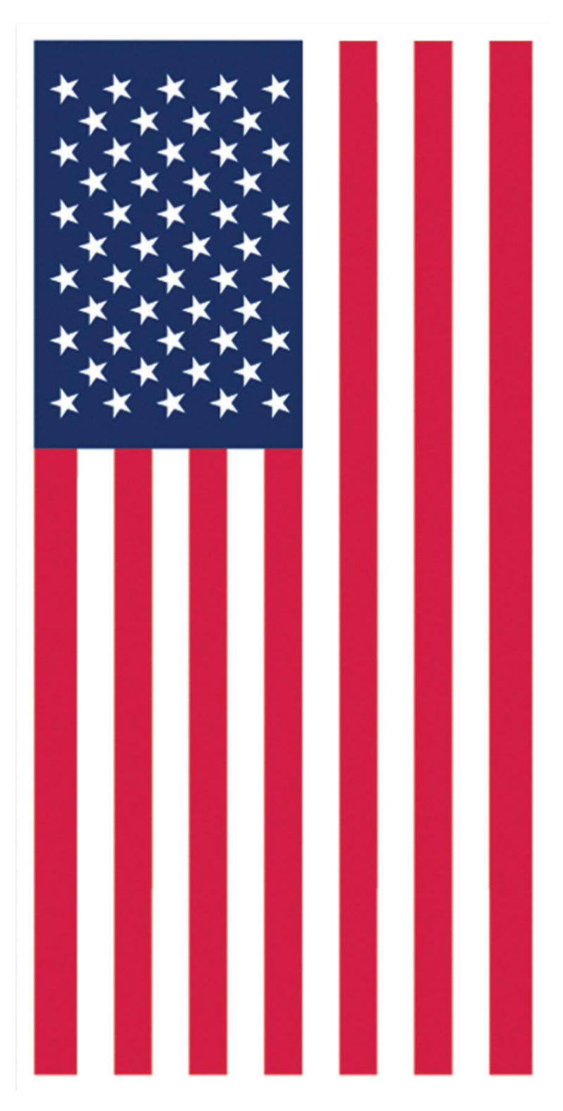 Beistle American Flag Door Cover Theme Decoration - Costume Arena