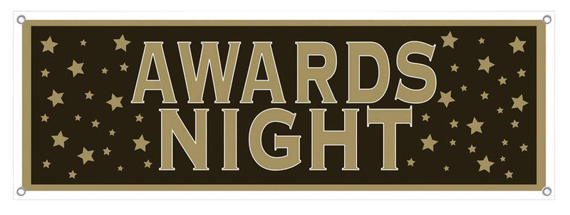 Beistle Awards Night Sign Banner Theme Decoration - Costume Arena