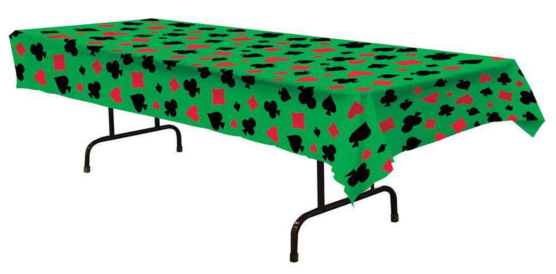 Beistle Casino Table Cover Halloween Decoration - Costume Arena