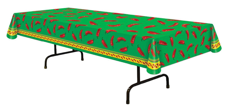 Beistle Chili Pepper Table cover Theme Decoration - Costume Arena