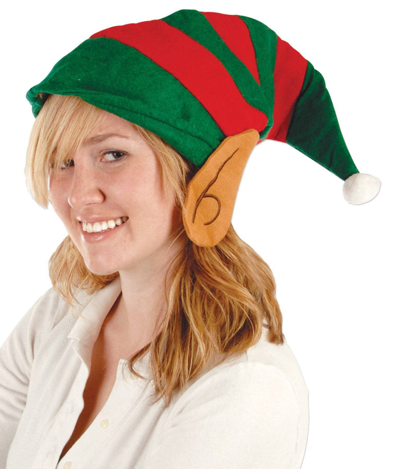 Beistle Elf Felt W Ears Festival Theme Party Hat - Costume Arena