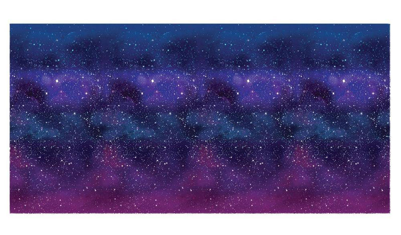 Beistle Galaxy Backdrop Theme Space Party Decoration - Costume Arena