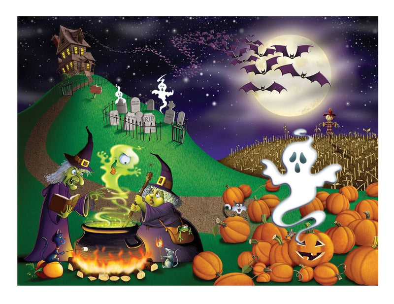 Beistle Halloween Insta-Mural Scary Party Decoration - Costume Arena