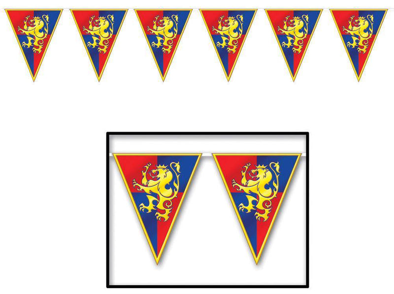 Beistle Medieval Pennant Banner Door Decoration - Costume Arena