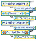 Beistle Oktoberfest Sign Cutouts Theme Decoration - Costume Arena