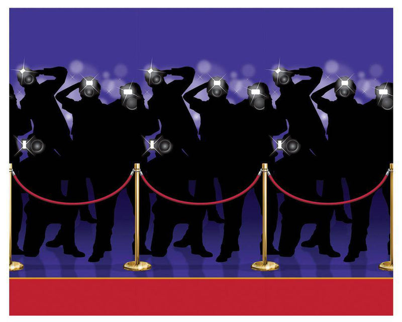 Beistle Paparazzi Backdrop Props Party Decoration - Costume Arena