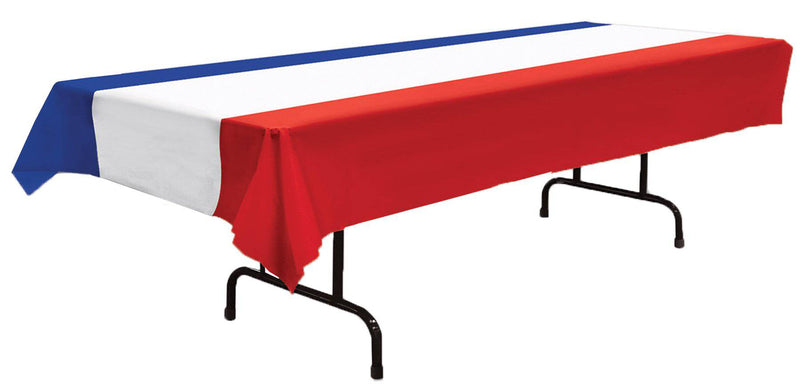 Beistle Patriotic Table Cover Theme Party Decoration - Costume Arena