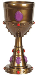 Beistle Plastic Jeweled Goblet Theme Decoration - Costume Arena