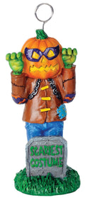 Beistle Scariest Trophy Scary Pumpkin Decoration - Costume Arena