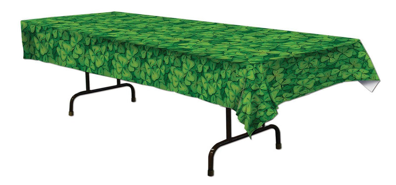 Beistle Shamrock Tablecover Theme Party Decoration - Costume Arena