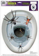 Beistle Spider Toilet Topper Peel N Pl Decoration - Costume Arena