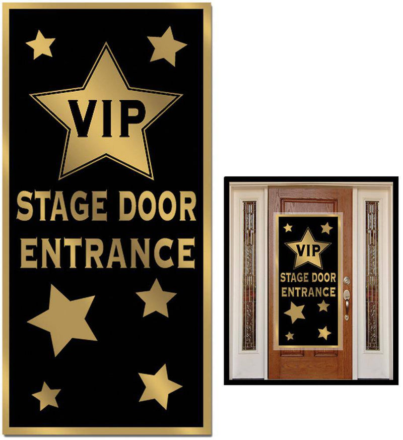 Beistle VIP Stage Door Entrance Cover Decoration - Costume Arena