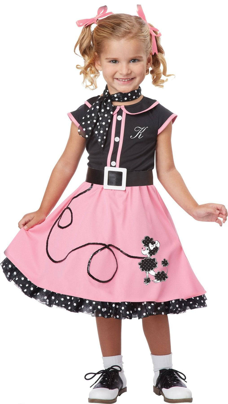 California Costumes 50s Poodle Cutie Theme Funny Child Costume - Costume Arena