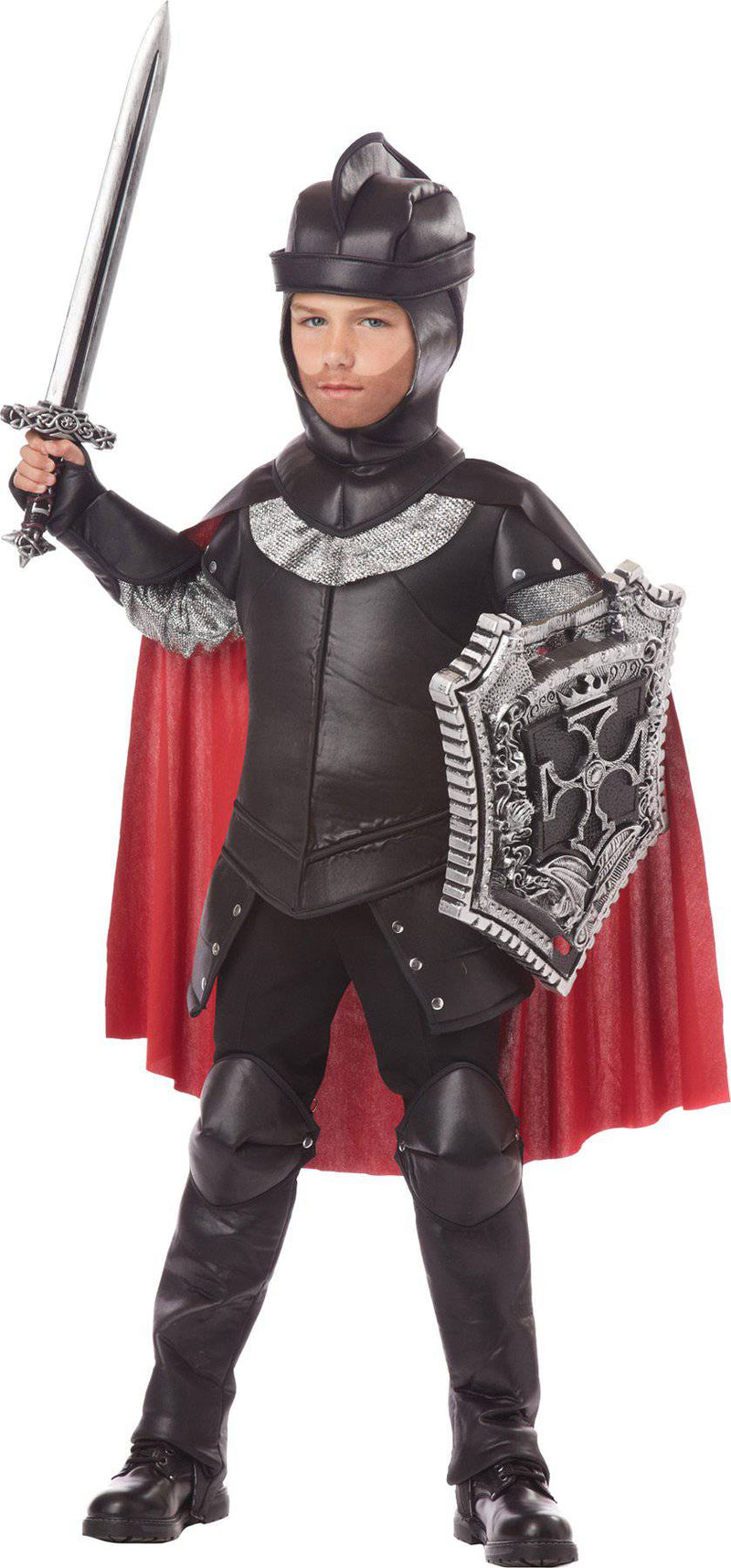California Costumes Boys' The Black Knight Warrior Party Costume - Costume Arena