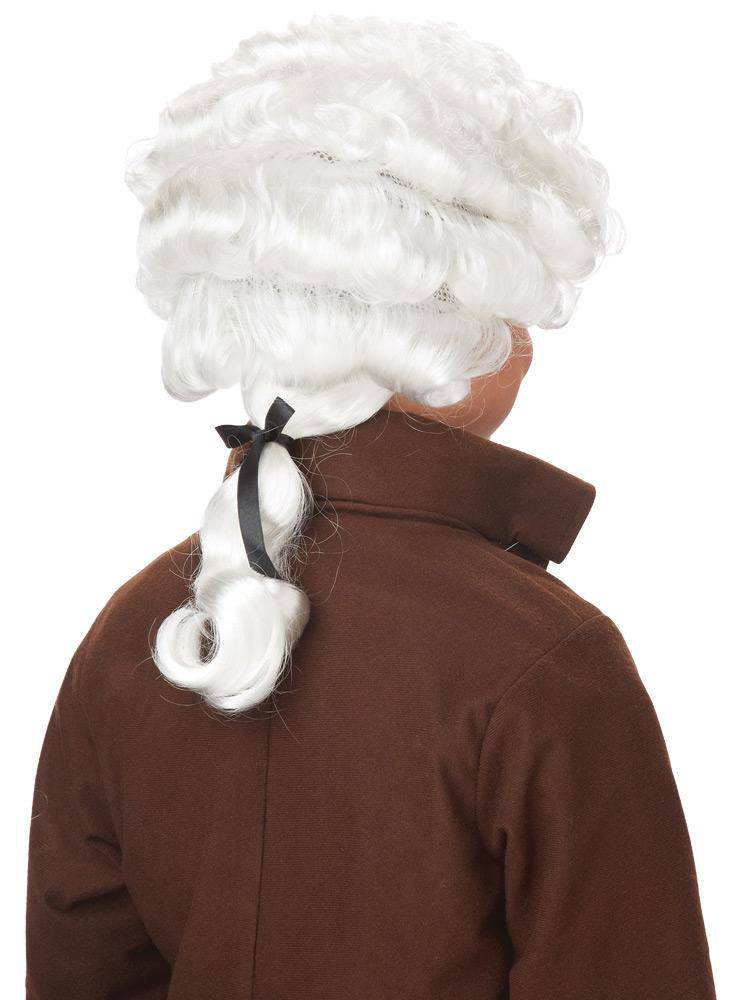 California Costumes Colonial Costume Historical Theme Party Wig - Costume Arena
