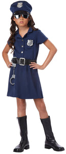 California Costumes Girls' Police Officer Career Theme Costume - Costume Arena