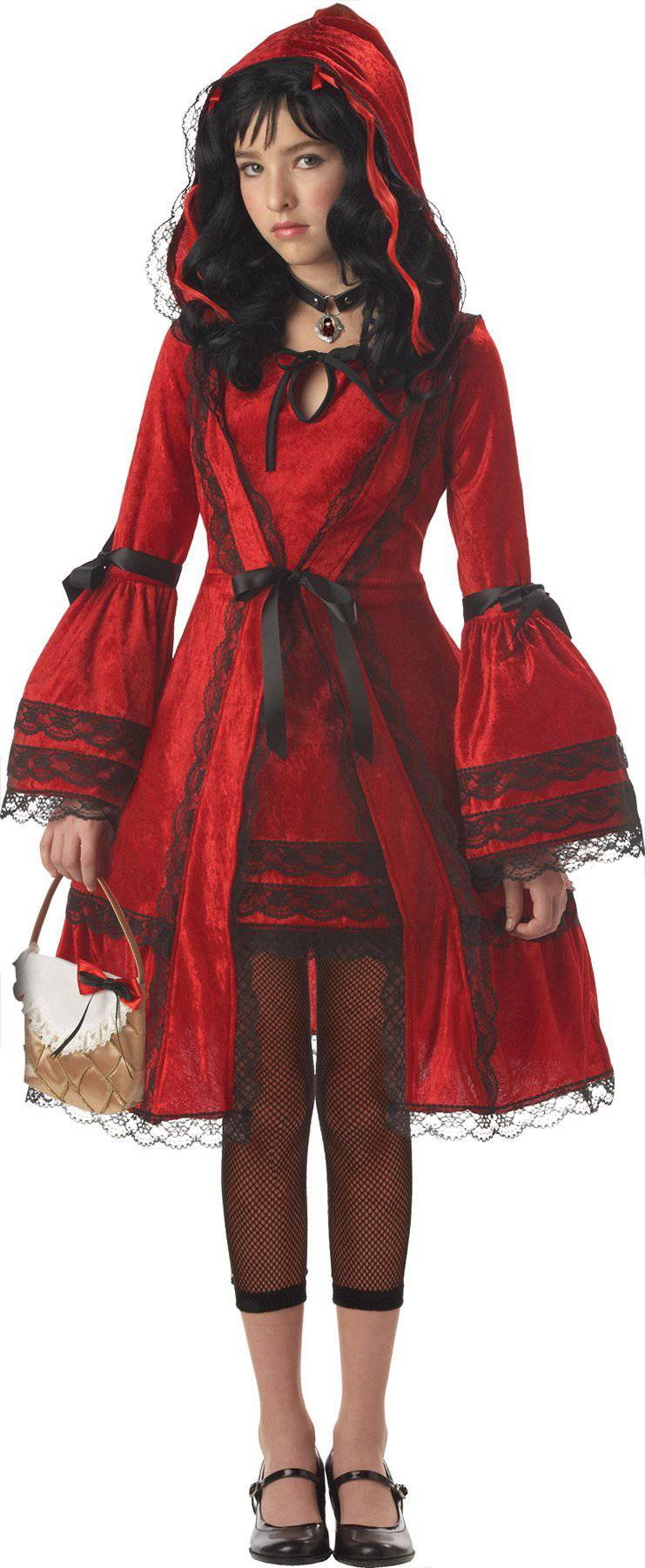 California Costumes Girls' Red Riding Hood Fancy Party Costume - Costume Arena