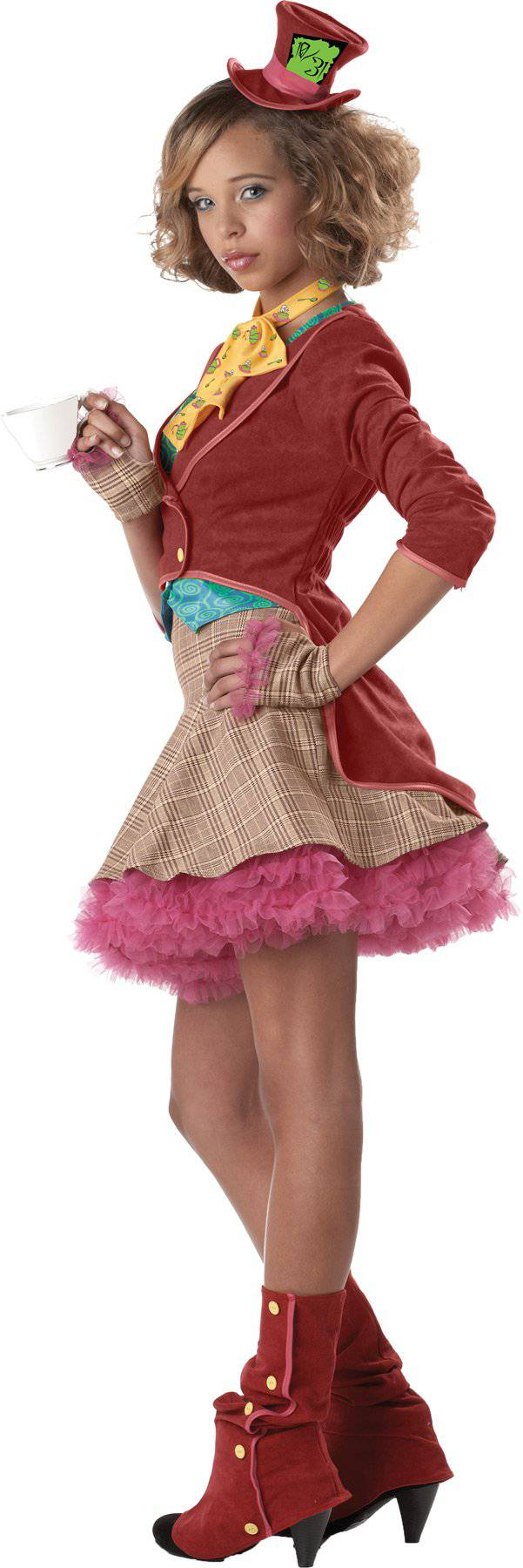 California Costumes Girls' The Mad Hatter Fancy Party Costume - Costume Arena
