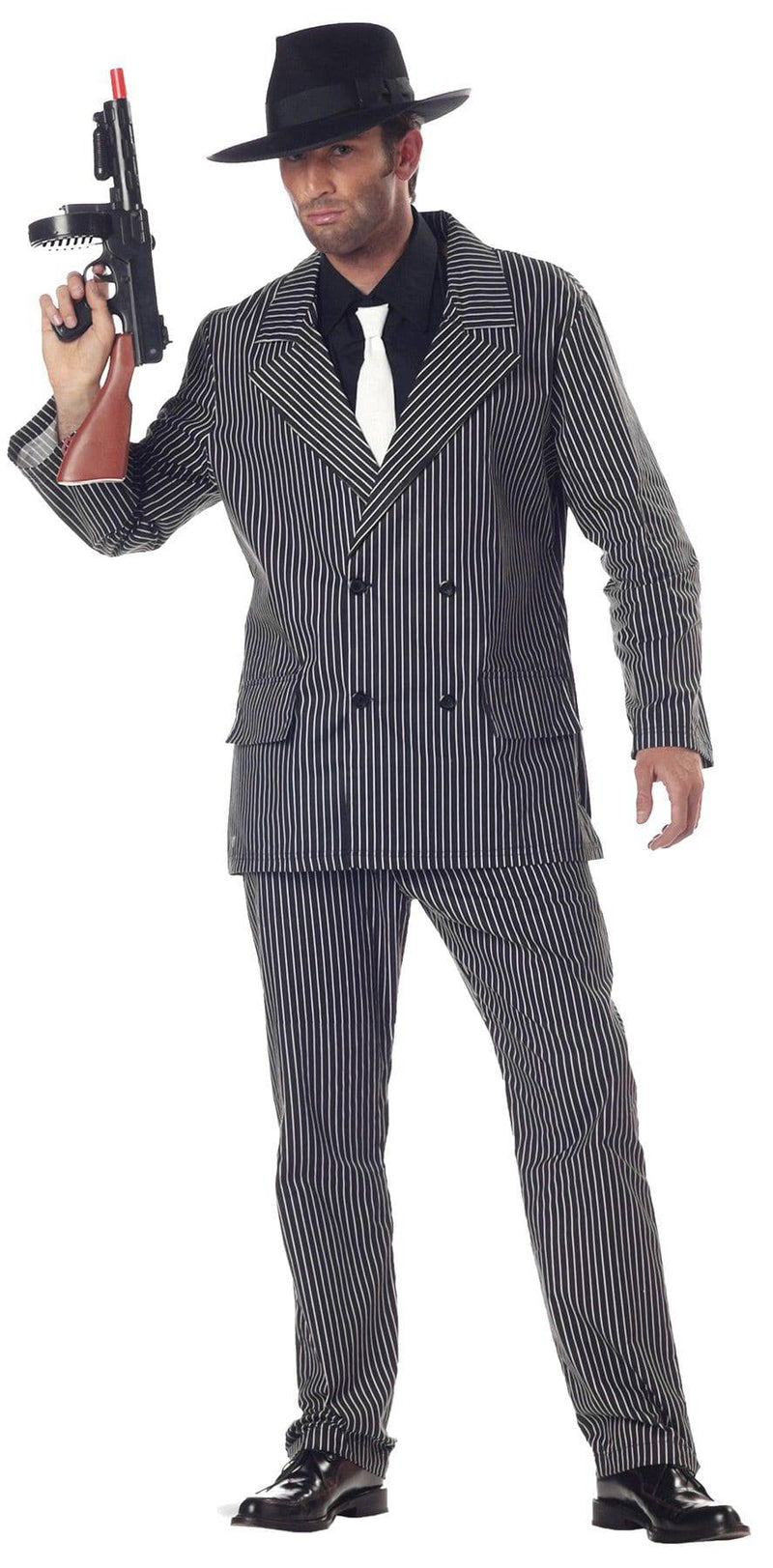 California Costumes Men's Gangster Theme Movie Party Costume - Costume Arena