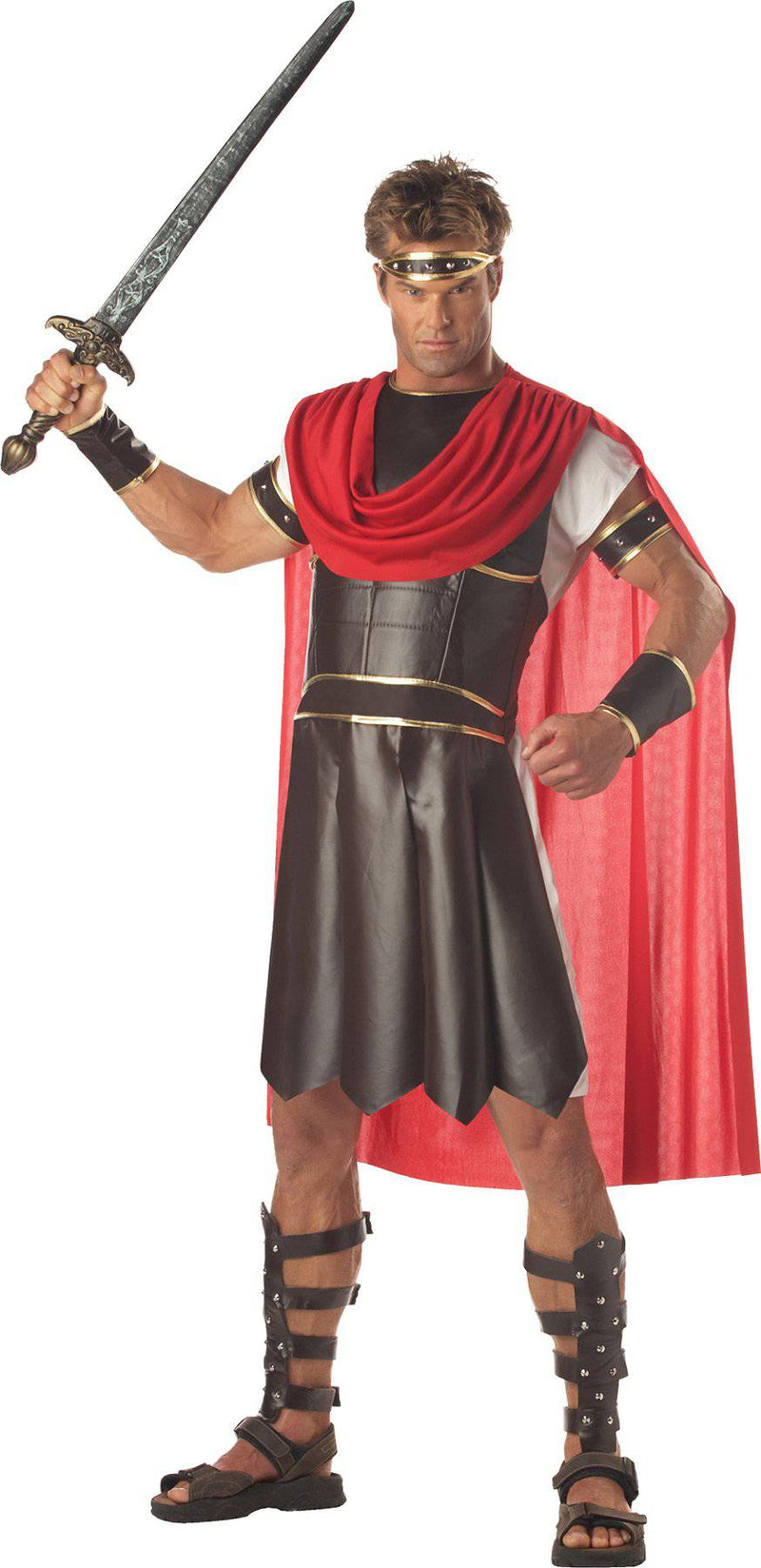 California Costumes Men's Greek Warrior Hercules Party Costume - Costume Arena