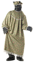 California Costumes Men's Wolf Granny Theme Horror Party Costume - Costume Arena