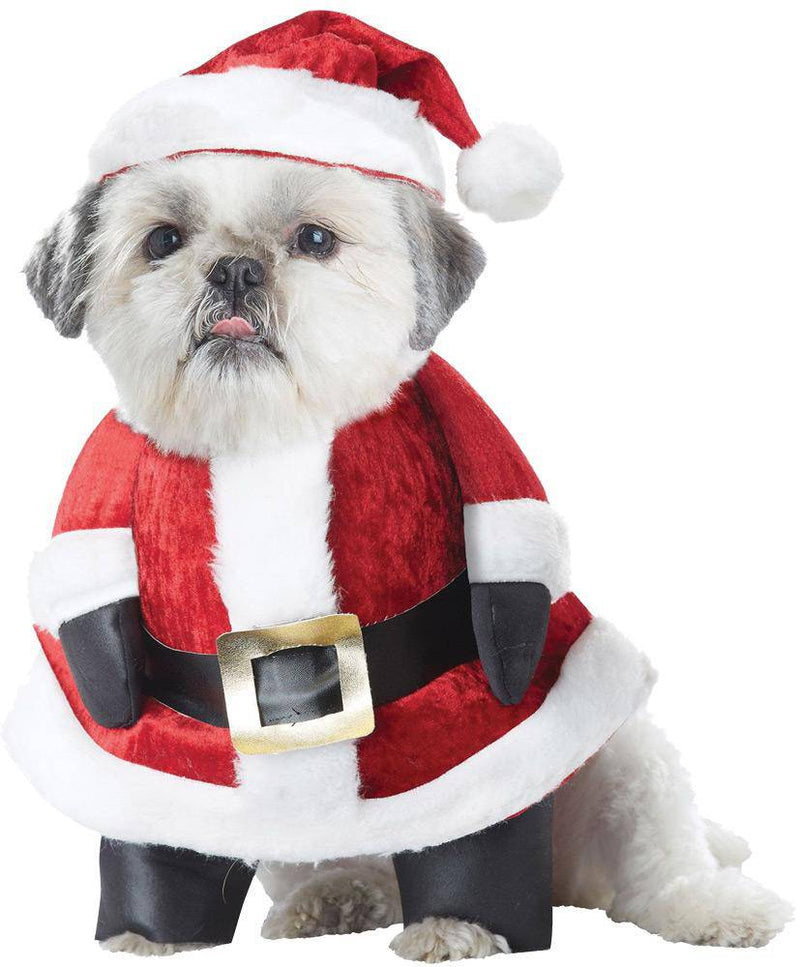 California Costumes Santa Paws Christmas Pet Dog Fancy Costume - Costume Arena