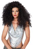California Costumes Women's Disco Diva Do 70s Theme Curly Wig - Costume Arena