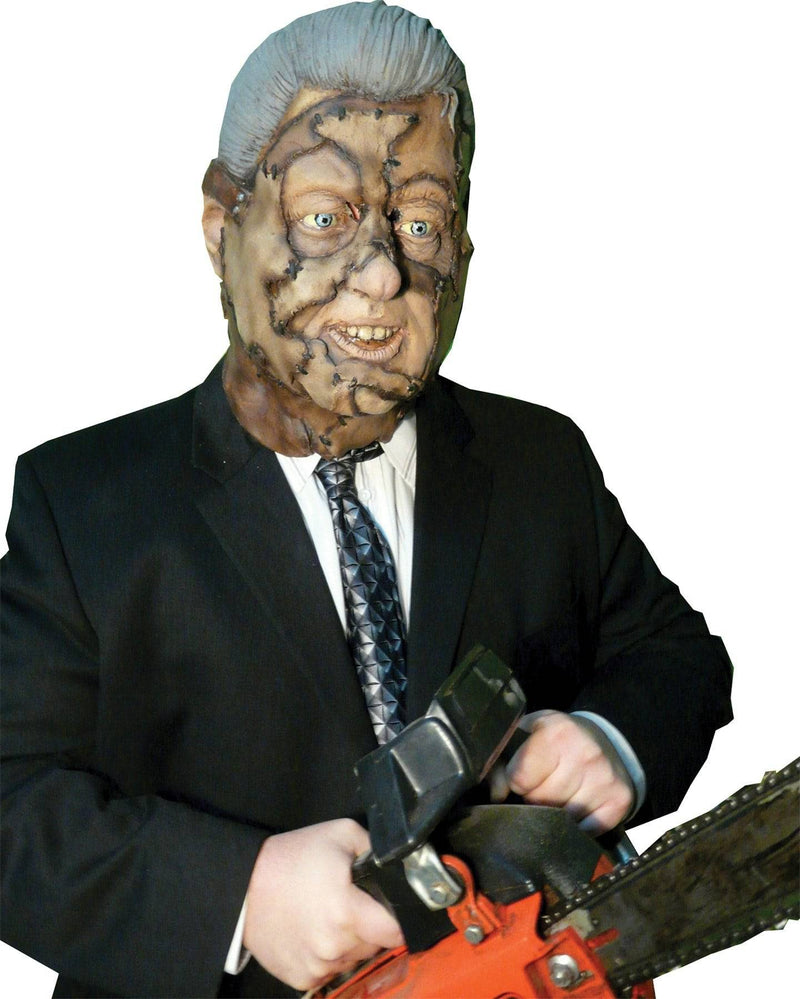 Chuck Jarman Bubba Clinton Halloween Party Latex Mask - Costume Arena