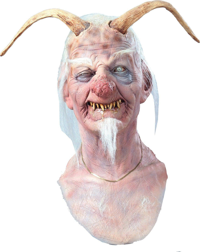Chuck Jarman Dirty Ol Devil Horror Movie Halloween Mask - Costume Arena