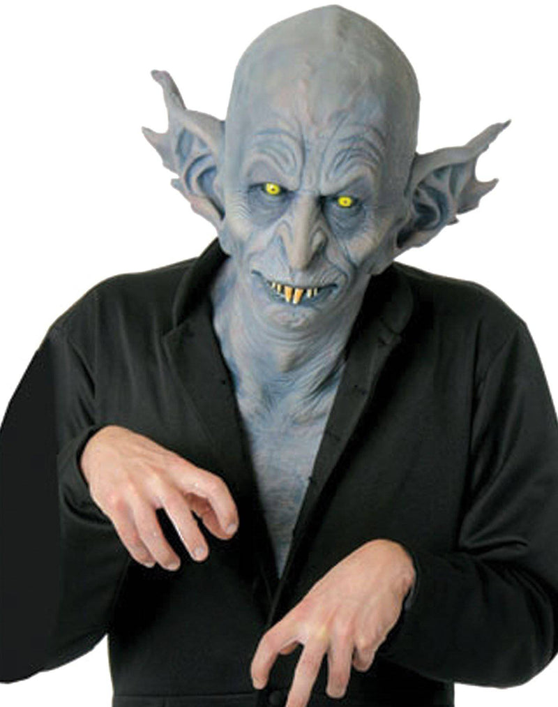 Chuck Jarman Nosferatu Halloween Humorous Latex Mask - Costume Arena