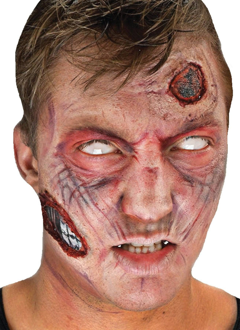 Cinema Secrets Complete 3D FX Zombie Makeup Kits Accessory - Costume Arena