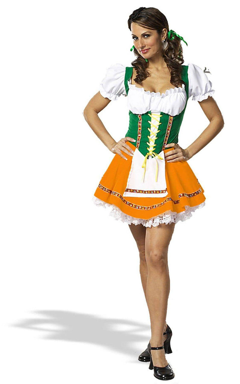 Cinema Secrets Women's Sexy Beer Garden Girl Theme Costume - Costume Arena